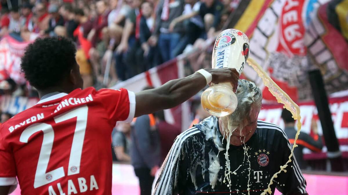 Carlo Ancelotti ist im September 2017 bei den Bayern entlassen worden, in seiner Zeit beim Rekordmeister konnte er sich auf einen Spieler immer verlassen - David Alaba.