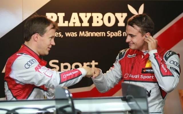 Aus Kollegen wurden Freunde: Mattias Ekström (li.) und Nico Müller (re.)