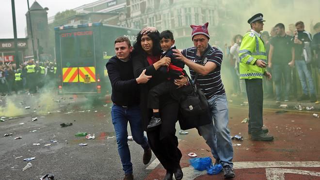 Schlimme Szenen vor West Hams letzten Spiel auf dem Boleyn Ground