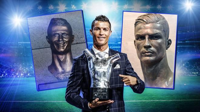 Real Madrid widmet Cristiano Ronaldo eine neue Büste