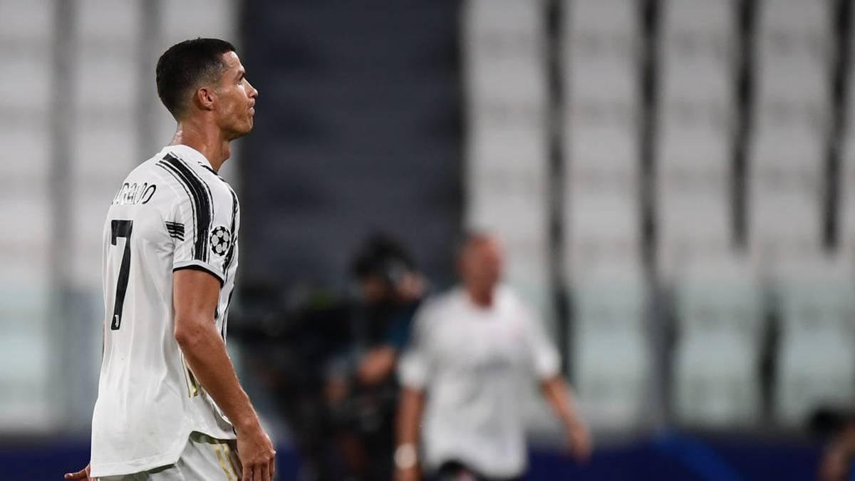 Cristiano Ronaldo ist mit Juventus Turin aus der Champions League ausgeschieden