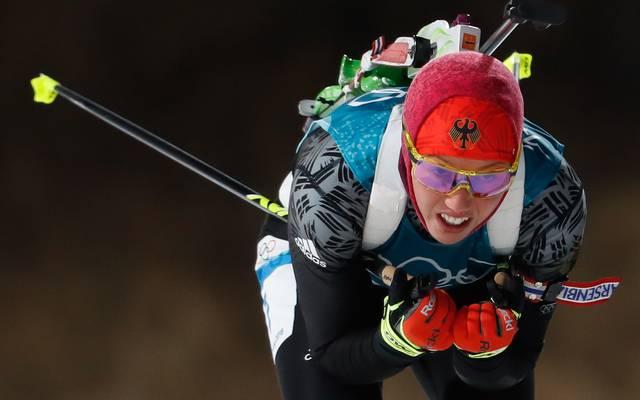 Laura Dahlmeier hat bereits Gold in Sprint und Verfolgung gewonnen
