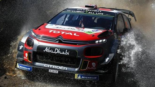 Kris Meeke gewann das Warm-up zur Rallye Mexiko 2018