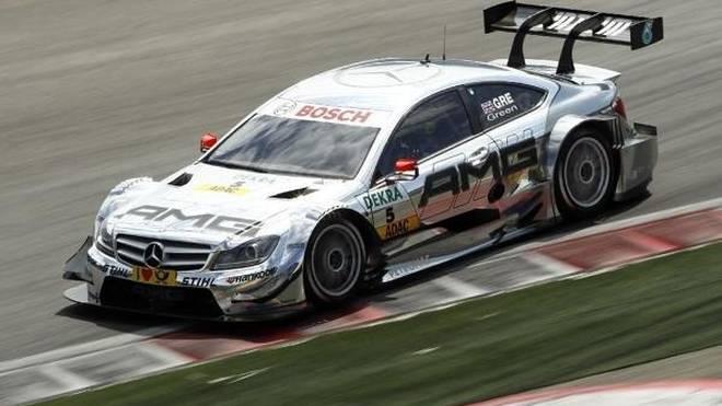Bevor Jamie Green 2013 zu Audi wechselte fuhr er für Mercedes