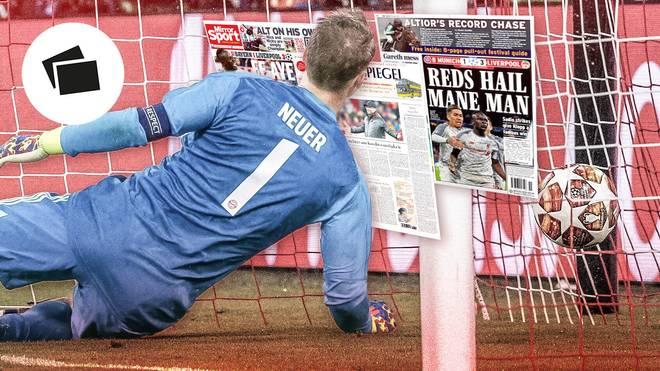 Das Ende der Bayern-Ära? Die internationale Presse kritisiert die Münchner nach er Niederlage gegen Liverpool hart