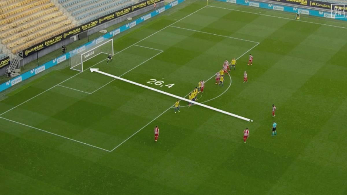 26 Meter! Traum-Freistoß von Suárez beflügelt Atlético