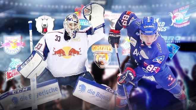 Eishockey: DEL SPORT1 24 Spiele LIVE