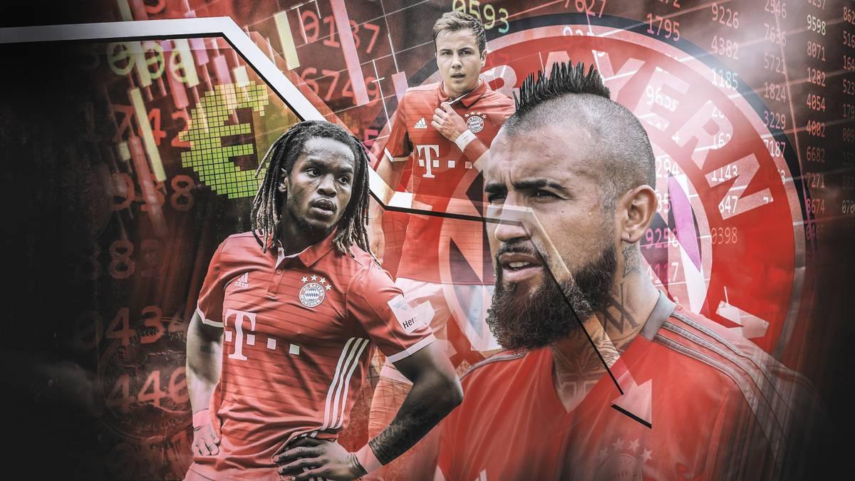Der FC Bayern München machte bei manchen Weiterverkäufen ordentlich Minus. SPORT1 zeigt, bei welchen Spielern das der Fall war.