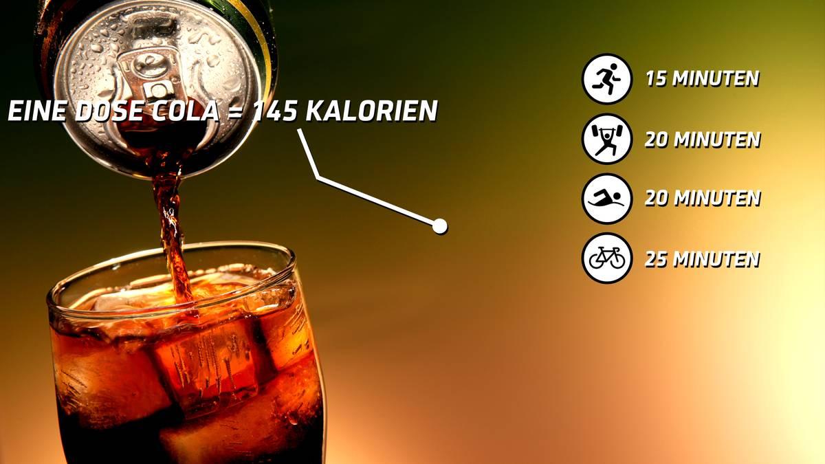 Wie sehr eine Dose Cola dem Körper schadet