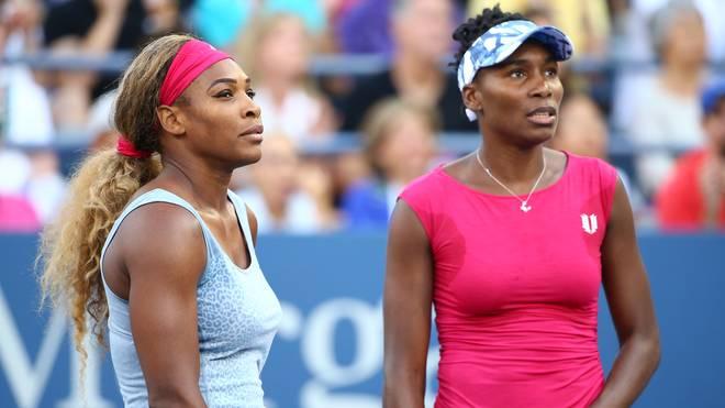 Serena (l.) und Venus Williams führen die USA in die Relegation