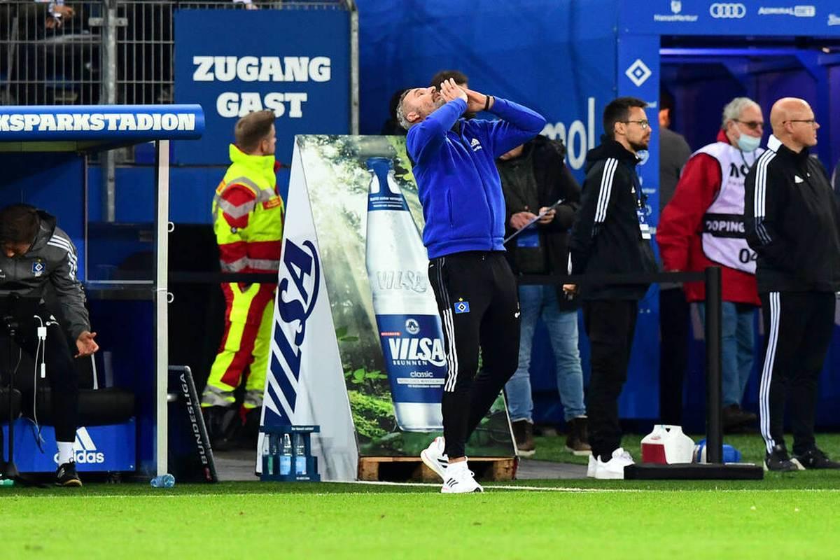 Der Hamburger SV spielt im Traditionsduell gegen Fortuna Düsseldorf über eine Stunde in Überzahl. Trotzdem gelingt den Hanseaten kein Sieg. Ein Rückschlag.