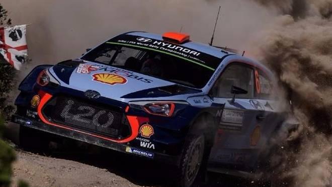 Dani Sordo fuhr zum zweiten Mal nach Portugal eine Shakedown-Bestzeit