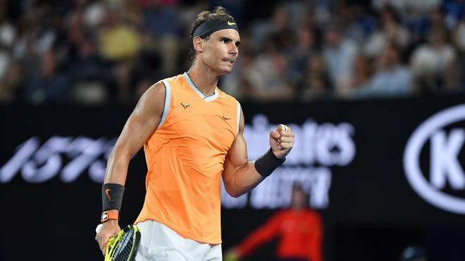 Rafael Nadal steht im Halbfinale der Australian Open