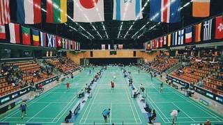 Die Turnierhalle in Helsingborg bietet Platz für 3000 Zuschauer
