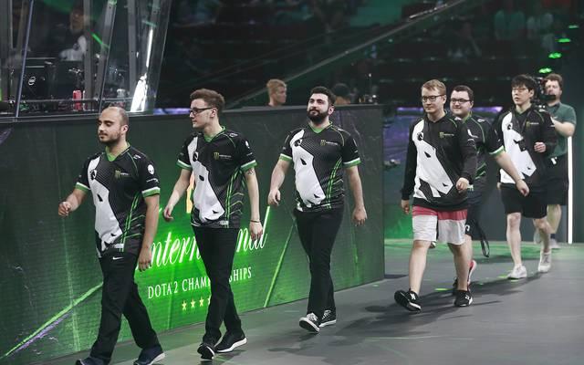 eSports, Dota-2-Major: Team Liquid unterliegt Team Secret in Paris , Das Team Liquid mit Kapitän Salehi Takhasomi bei den International 2018 Dota 2 Championships in Vancouver