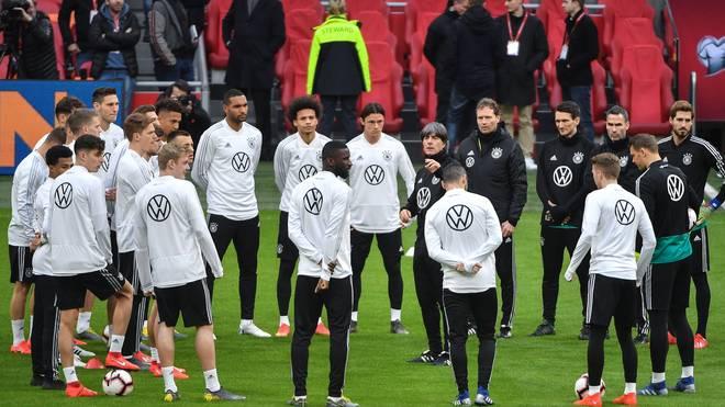 EM 2020: Nationalmannschaft bezieht Quartier in Herzogenaurach, Bundestrainer Joachim Löw will sich mit dem DFB-Team für die EM 2020 qualifizieren