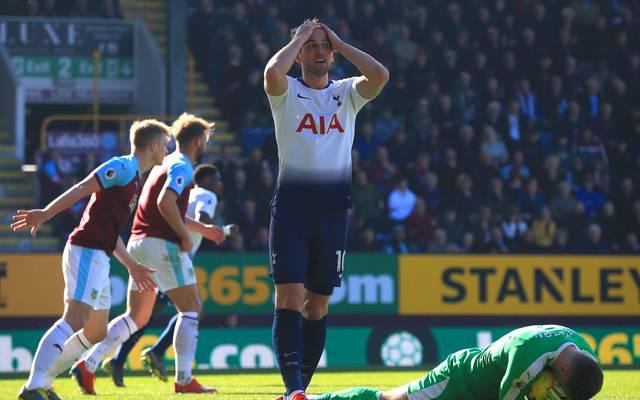 Harry Kane konnte bei seinem Comeback die Niederlage der Tottenham Hotspur nicht verhindern