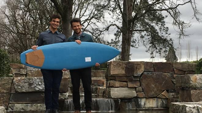 Das erste recycelbare Surfboard aus dem 3D Drucker
