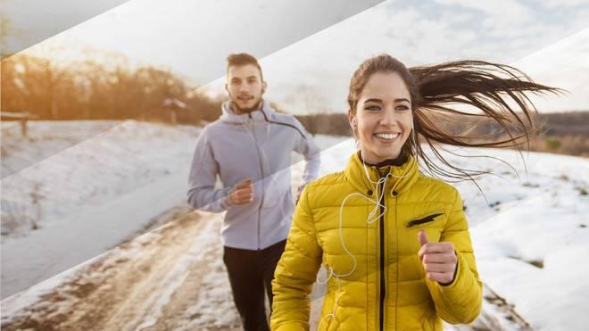Die richtigen Klamotten beim Laufen im Winter