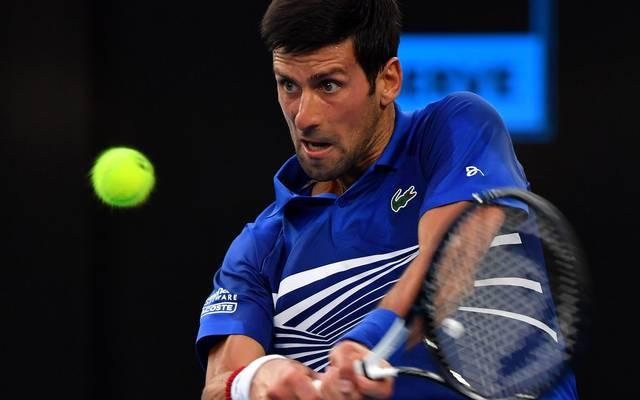 Novak Djokovic gewann bisher 14 Grand-Slam-Turniere