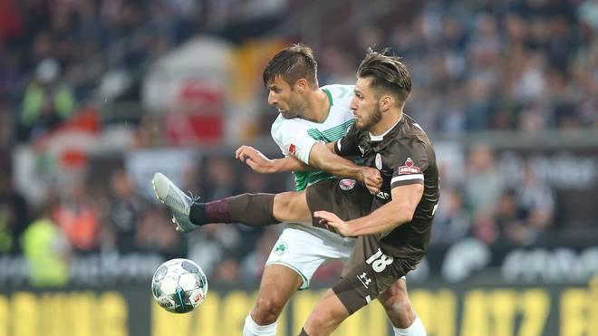 FC St. Pauli v SpVgg Greuther Fürth - Second Bundesliga