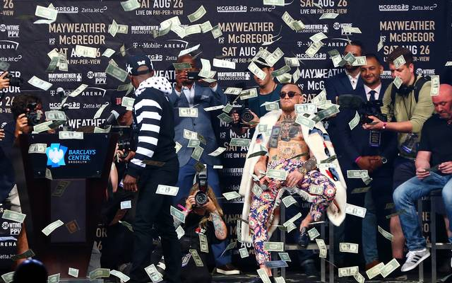 Floyd Mayweather Jr. und Conor McGregor