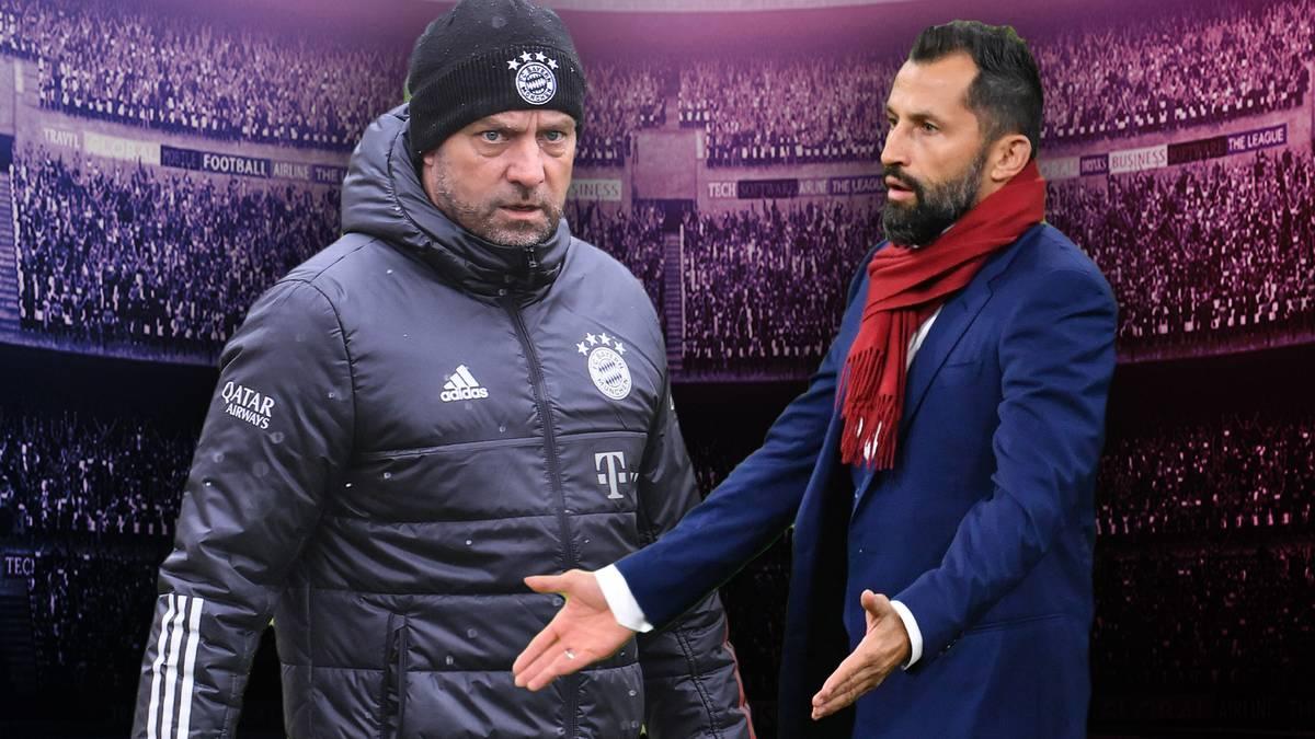 Der Konflikt zwischen Bayern-Trainer Hansi Flick und Sportvorstand Hasan Salihamidzic geht nach der Niederlage gegen PSG weiter. Ist der persönliche Stolz der beiden das Problem?