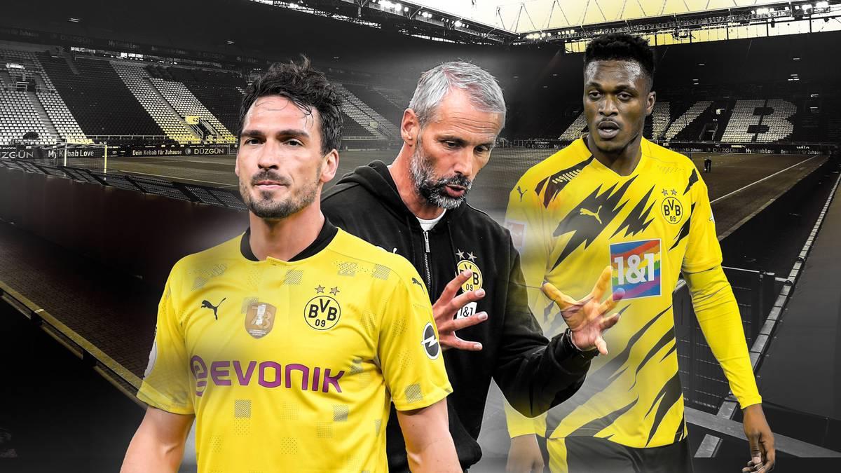 Marco Rose hat in der Vorbereitung mit Borussia Dortmund bereits ein Problem. Der neue BVB-Coach hat keinen Innenverteidiger mehr zur Verfügung und es ist völlig unklar, wer im Zentrum verteidigen kann.