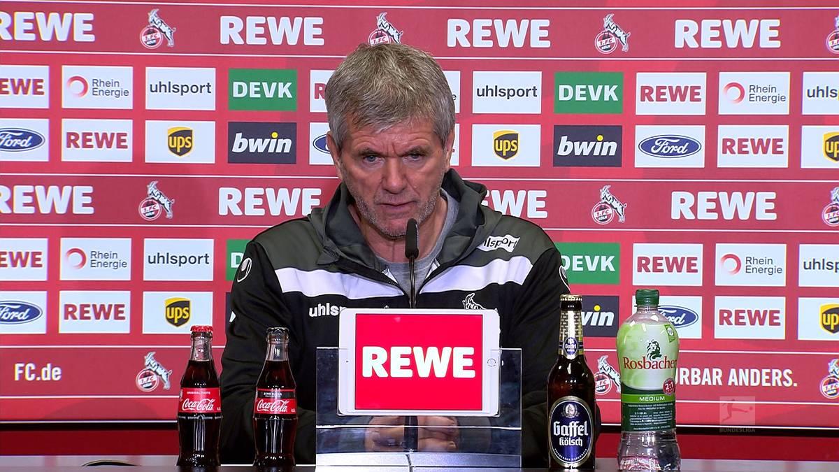 Der 1.FC Köln schafft es den direkten Abstieg zu verhindern und rettet sich in die Relegation. Dort will Trainer Friedhelm Funkel aber vor allem einem Verein nicht begegnen.