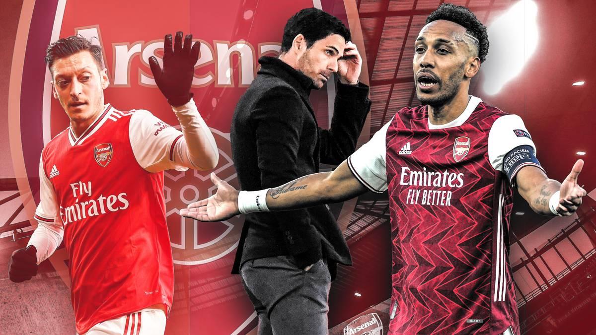 Arsenal scheidet sang- und klanglos gegen Villareal aus der Europa League aus. Sind die glanzvollen Zeiten der Gunners in der Zeit nach Mesut Özil vorbei?