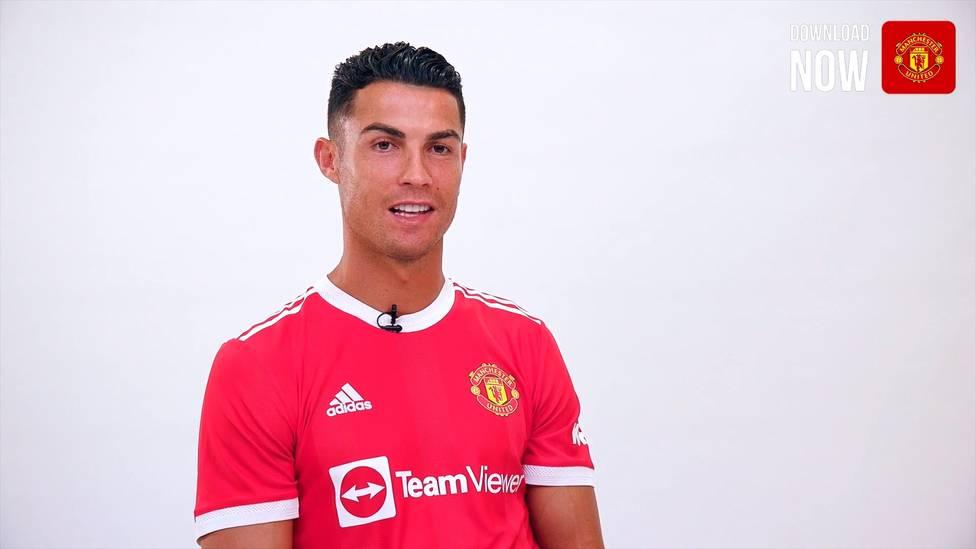 Cristiano Ronaldo ist nach zwölf Jahren wieder zurück bei Manchester United. Das sind seine ersten Worte im Trikot der Red Devils.