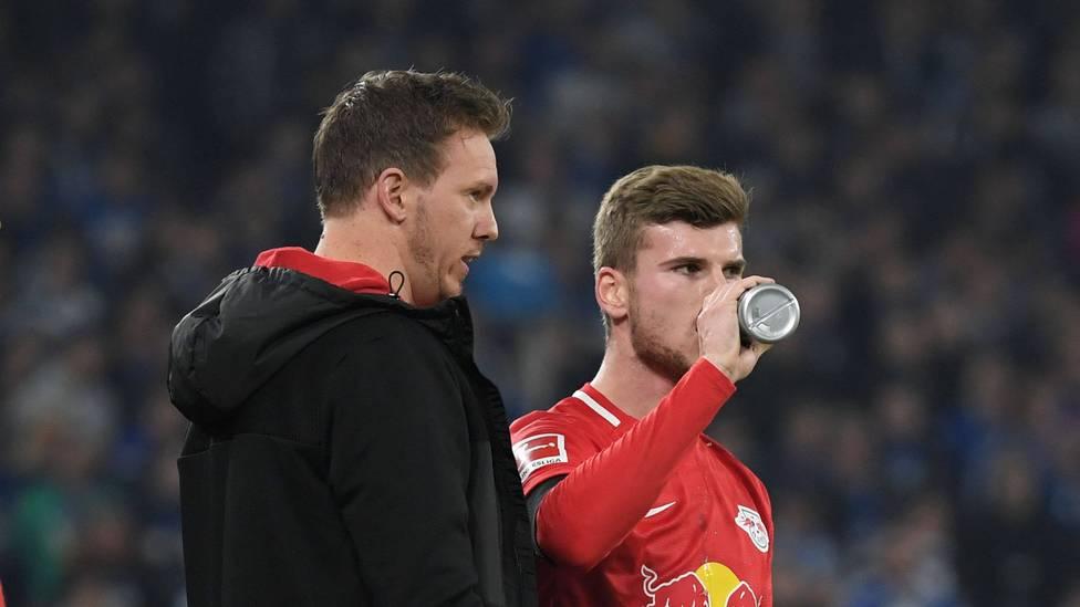 Julian Nagelsmann hat Timo Werner als Trainer von RB Leipzig geholfen, auf das nächste Level zu kommen. Jetzt sorgen Gerüchte um Wiedervereinigung für Aufsehen.