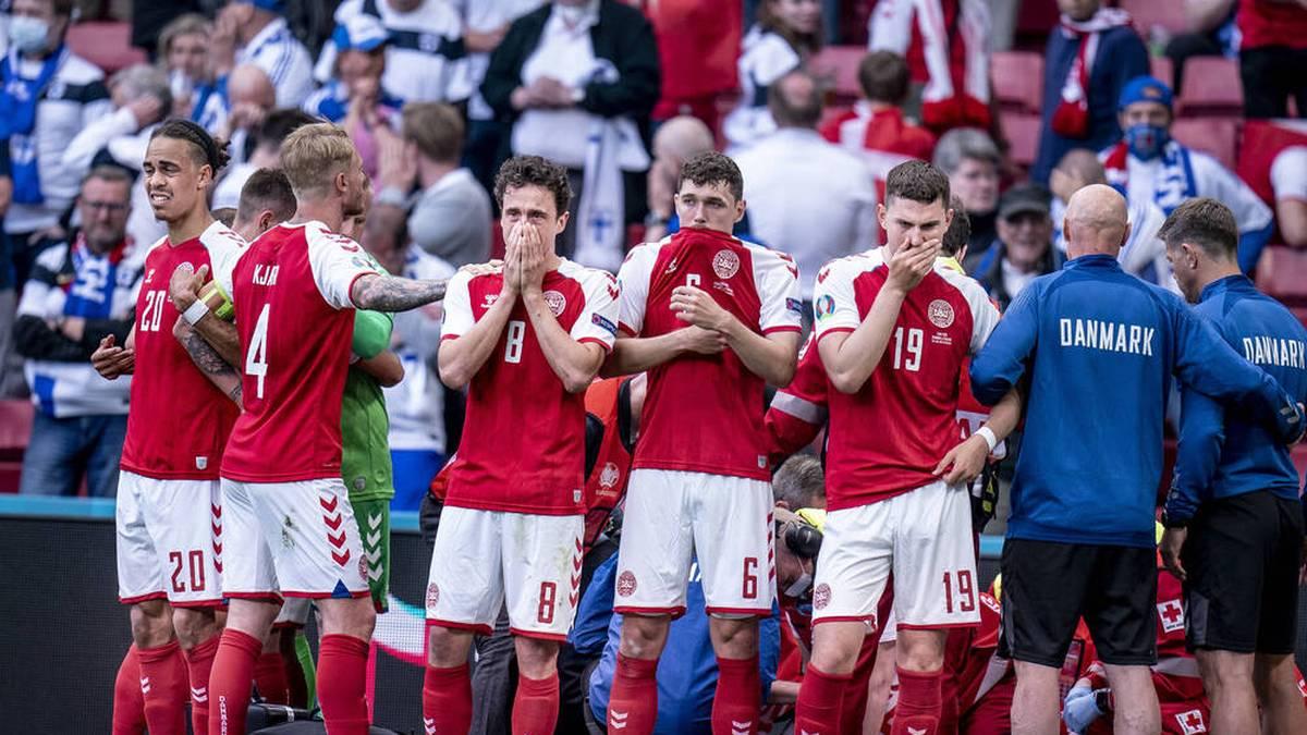 Große Sorgen um Christian Eriksen - aber zumindest leichte Entwarnung!  Der dänische Nationalspieler brach beim EM-Spiel gegen Finnland ohne gegnerische Einwirkung zusammen und blieb bewusstlos liegen.