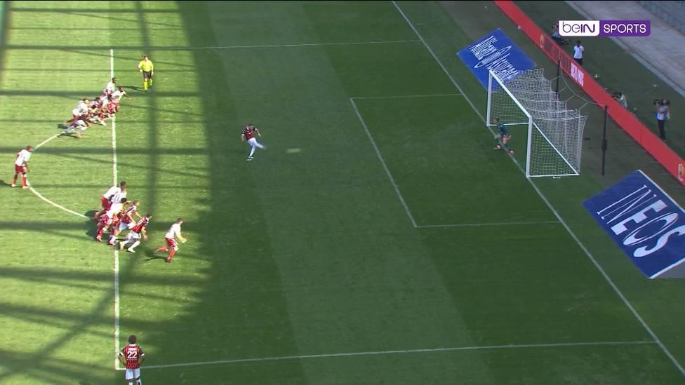 Was für ein wilder Ritt! Nizza und Monaco liefern sich einen Schlagabtausch - und mittendrin ist Alexander Nübel. Der Keeper ist in der Schlussphase bei einem Elfmeter gefordert.