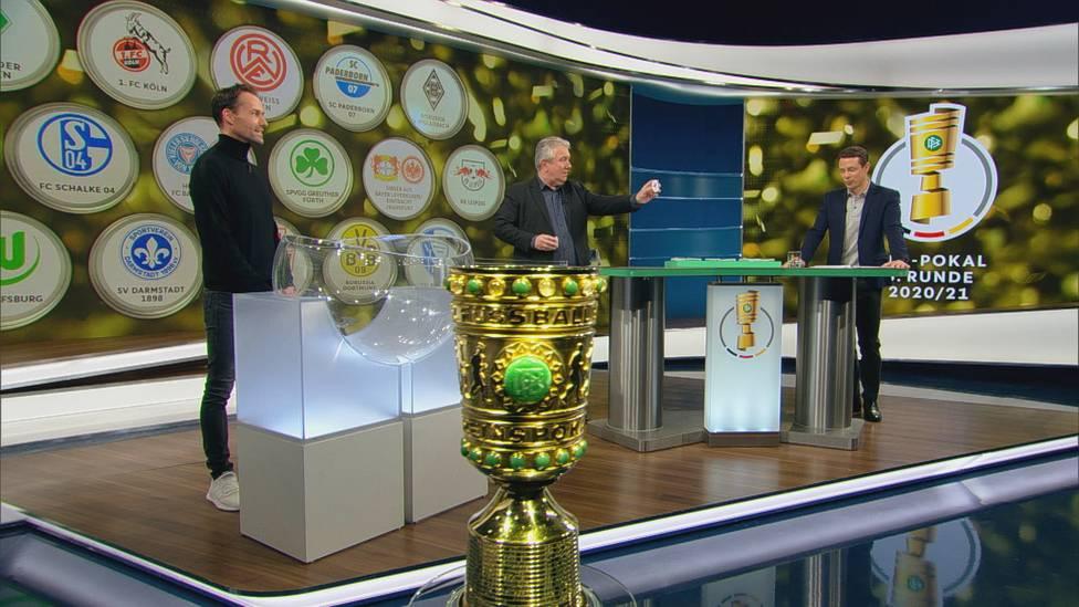Die Begegnungen des Achtelfinales im DFB-Pokal stehen fest. Titelverteidiger Bayern München und Borussia Dortmund freuen sich über Losglück.