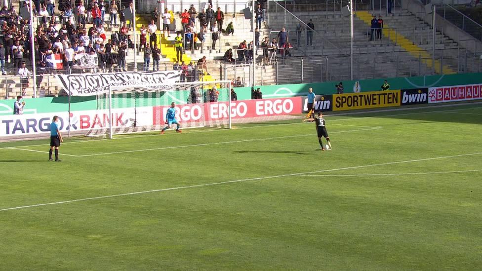 Pokal-Blamage abgewendet: Mainz 05 zieht nach einem Elfmeter-Krimi gegen Elversberg in die nächste Pokalrunde ein.