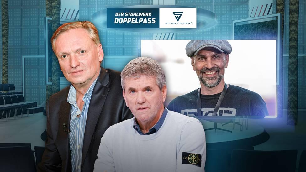 Der STAHLWERK Doppelpass vom 10. Oktober in voller Länge zum Nachschauen - unter anderem mit Trainer-Legende Friedhelm Funkel und Gast-Moderator Rudi Brückner.