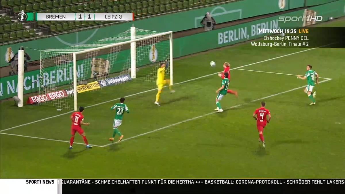 Die Finalisten des DFB-Pokal 2021 stehen fest! In zwei packenden Halbfinals spielten Leipzig, Bremen, Dortmund und Kiel um den Finaleinzug. Die Highlights im Video.