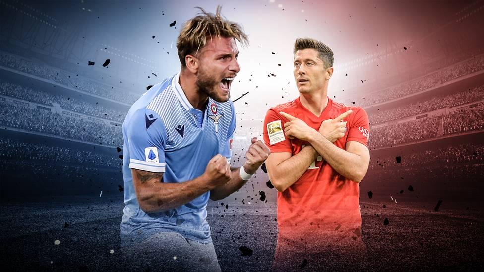 """Im Spiel gegen Brescia gelang Lazios Ciro Immmobile sein 35. Saisontor. Damit ist er im Rennen um den """"Goldenen Schuh"""" an Robert Lewandowski vorbeigezogen."""