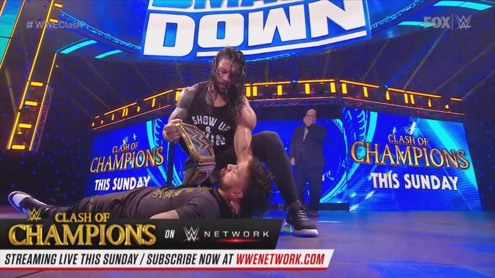 Bei WWE Friday Night SmackDown eskalieren die Spannungen zwischen Universal Champion Roman Reigns und seinem Neffen Jey Uso.