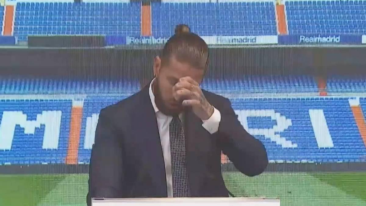 Im zarten Alter von nur 19 Jahren kam Sergio Ramos zu Real Madrid und wurde in der spanischen Hauptstadt zu einer Legende. Der nun 35-Jährige hält eine emotionale Abschiedsrede.