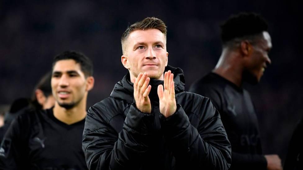 Dortmunds Kapitän Marco Reus peilt im Falle eines baldigen Restarts der Bundesliga sein persönliches Comeback noch im Mai an.