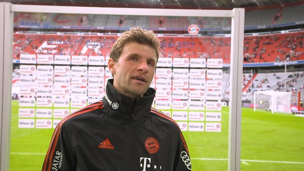 Thomas Müller schwärmt beim Legendenspiel von seinem neuen Trainer Julian Nagelsmann und traut den Bayern trotz der schlechten Testspielergebnisse einiges zu.
