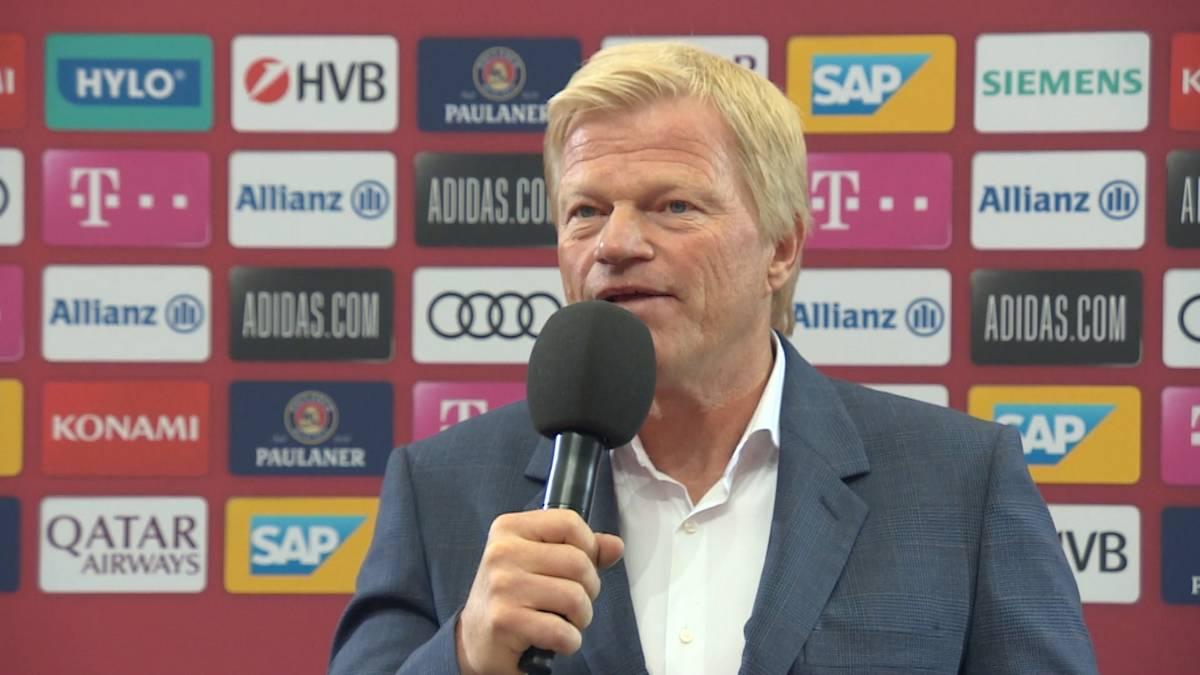 Oliver Kahn zeigt sich zuversichtlich, Kingsley Coman und Leon Goretzka halten zu können. Bayerns neuer Vorstandsboss spricht allerdings auch eine Warnung aus.