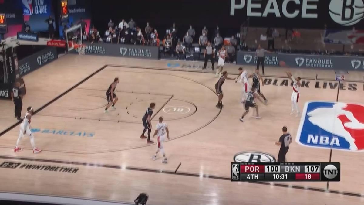 Die NBA ist in der Bubble: Trotz der Umstände hauen die Superstars ein Traumding nach dem Anderen heraus. Die schönsten Körbe im Video.