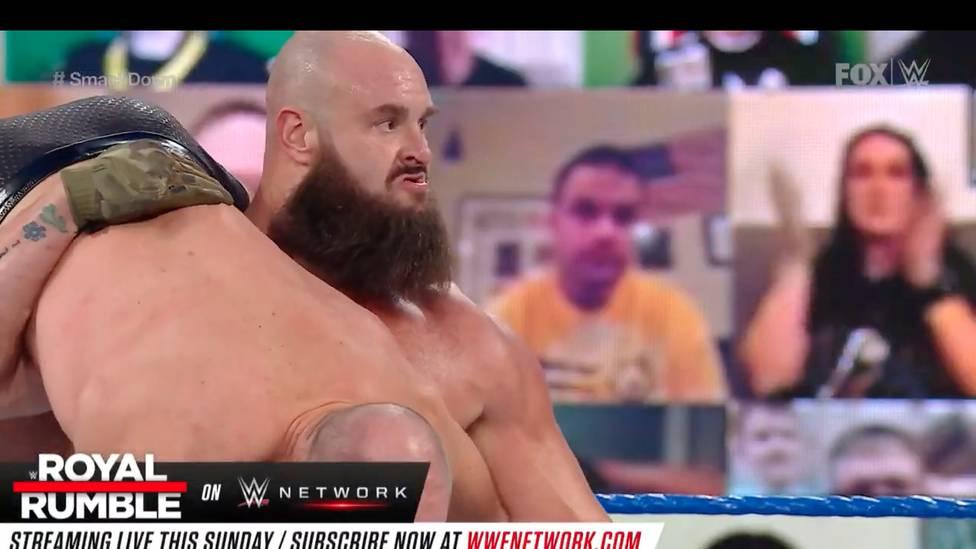 """Rechtzeitig vor dem Royal Rumble kehrt ein weiterer WWE-Topstar in den Ring zurück: Bei WWE Friday Night SmackDown mischt das """"Monster Among Men"""" Braun Strowman das Feld auf."""