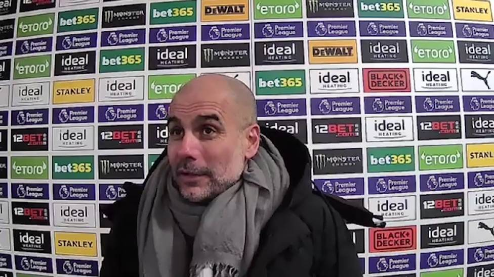 Zwei Tore im Premier-League-Spiel gegen West Bromwich Albion: Ilkay Gündogan glänzt - und wird danach von City-Coach Pep Guardiola geadelt.