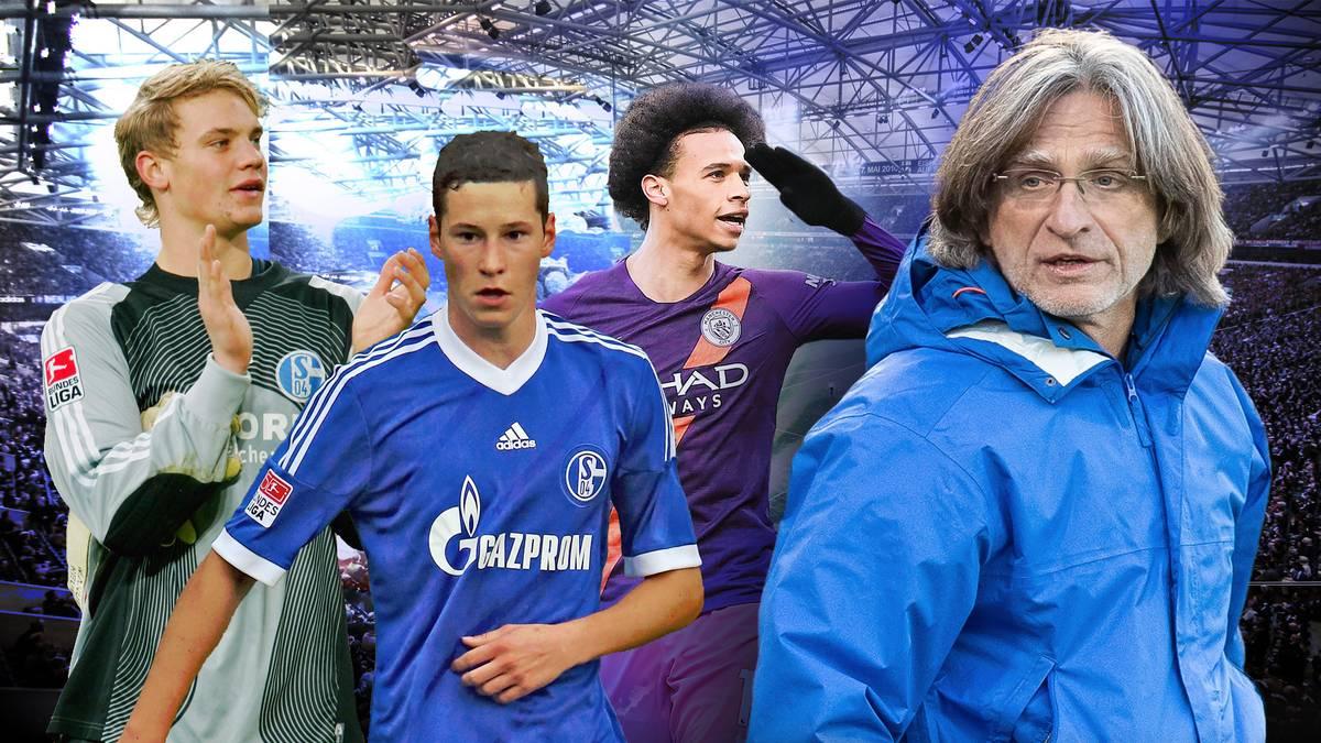 Seit 24 Jahren ist Norbert Elgert Nachwuchs-Coach bei Schalke 04. Die Liste der Stars, die seine Schule durchliefen und später die Kasse klingeln ließen, ist lang.