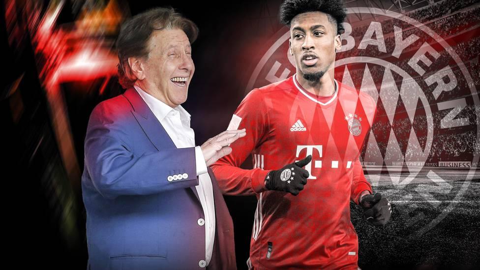 Im exklusiven SPORT1-Interview sprechen Uli Hoeneß und Oliver Kahn auch über eine mögliche Verlängerung mit Kingsley Coman.