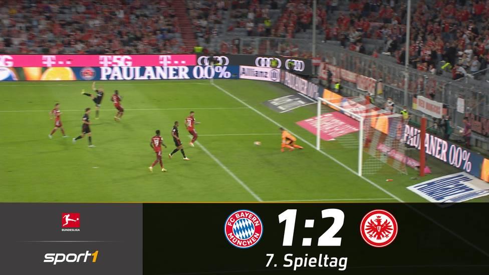 Frankfurt feiert einen Sensationserfolg in München. Für die Eintracht ist es der erste Saisonsieg. Beim späten Siegtreffer von Filip Kostic macht Manuel Neuer keine allzu glückliche Figur.